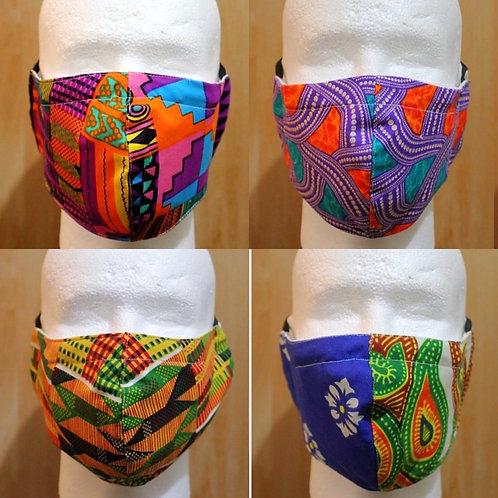 African Print Cloth Mask