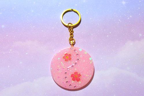 Cherry Blossom Yin Yang Charm