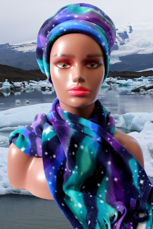 Galaxy Hat & Scarf Combo