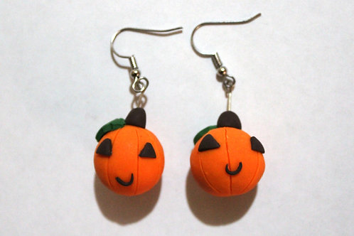 Happy Pumpkin Earrings