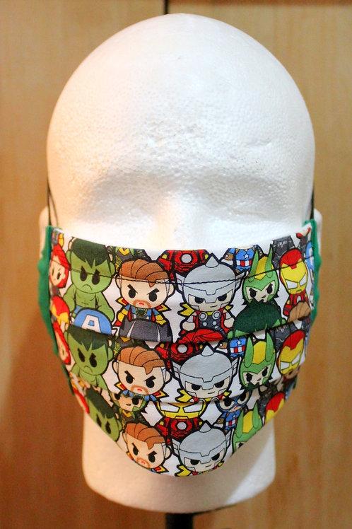 Chibi Heroes Cloth Mask