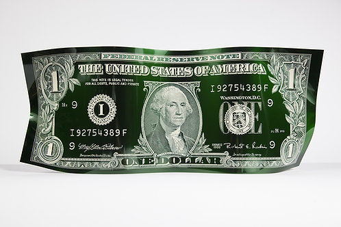 ONE DOLLAR ENGRAVED GREEN