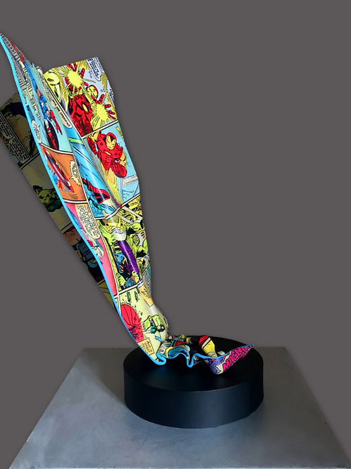 Paper Plane Pop Art