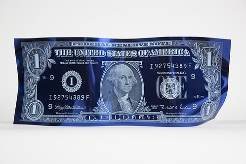 ONE DOLLAR ENGRAVED BLUE