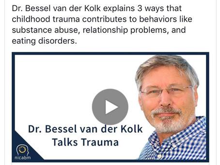 Dr Bessel van der Kolk Talks Trauma