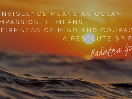 An ocean of compassion...