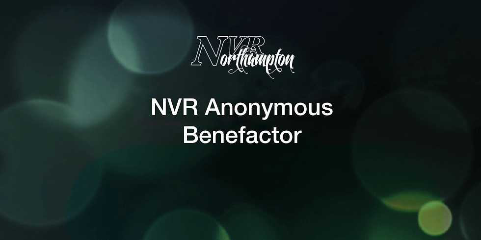 NVR Anonymous Benefactor