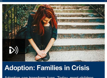 Adoption:  Families in Crisis