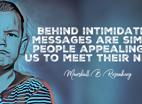Behind Intimidating Messages