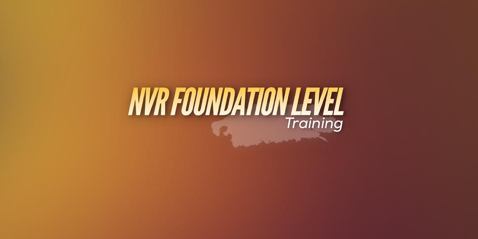 Foundation NVR Training