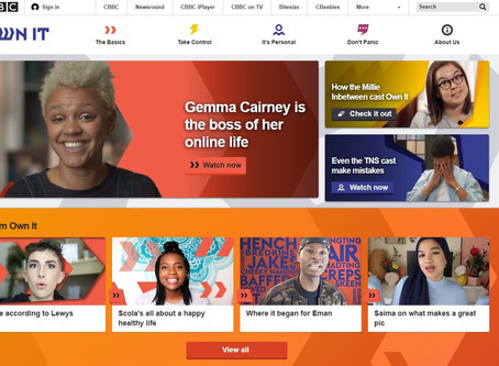 BBC launch Own It for 9-12 year olds