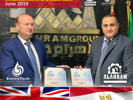 COLLABORATION AGREEMENT BETWEEN ENVIROTECH LIMITED AND AL AHRAM GROUP