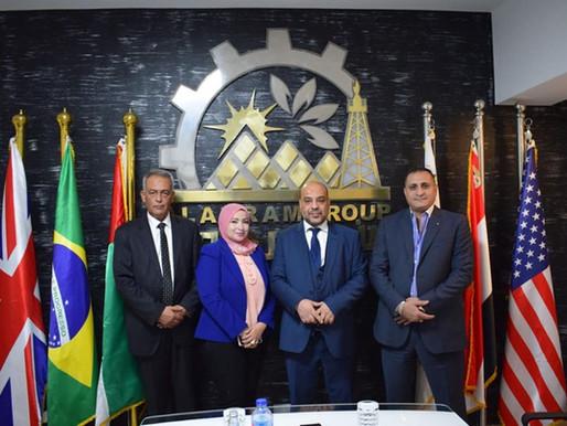 مجموعة الأهرام جروب تستقبل وزير الاقتصاد الليبي لبحث الفرص الاستثمارية في ليبيا