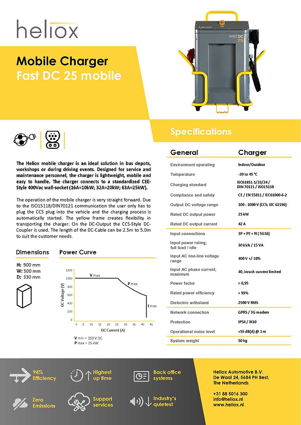 product leaflet HE9816040-01 25 kW CE 20