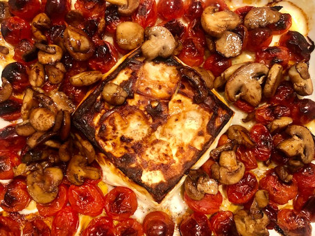 Baked Feta and Penne Pasta