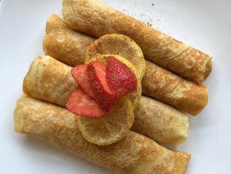 Lemon Zest Crepes