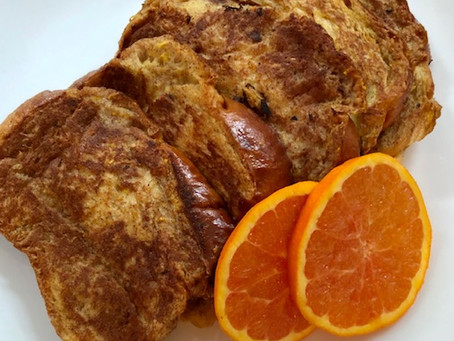 Challah Bread Orange Zest French Toast