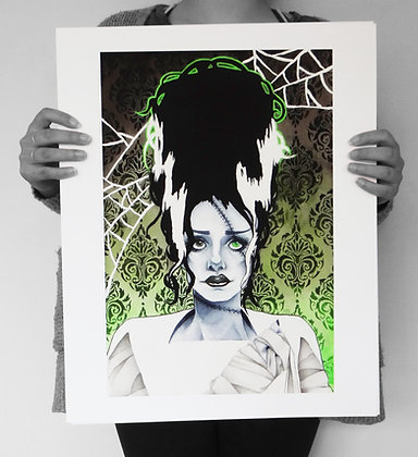 Franken-Bride Limited Edition Prints