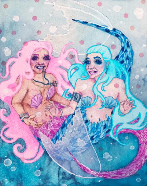 Mermaid Best Friends
