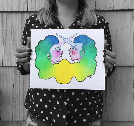 Mystic Sisters -Print