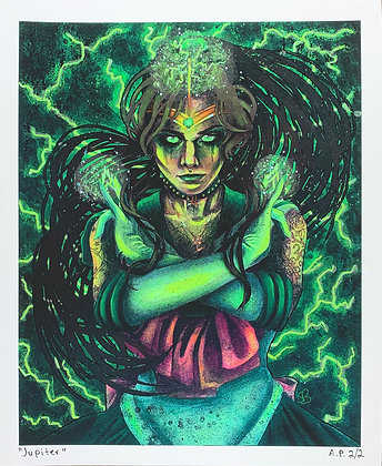 Sailor Jupiter Artist Proof Prints