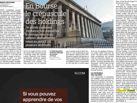 Le Figaro & Avant-Garde Investment - le crépuscule des holdings