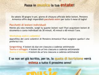 Passa in musica la tua estate!