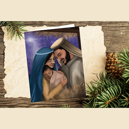 Away in a Manger Cards