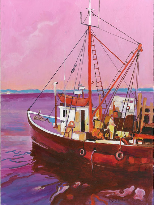 Harbor Colors #1 by Gregory L Gorham