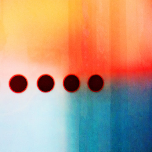 Four Dots Abstract