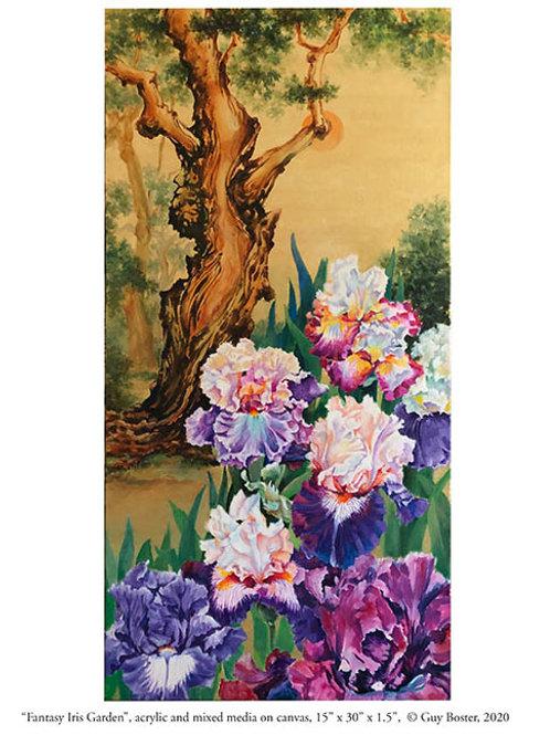 Fantasy Iris Garden