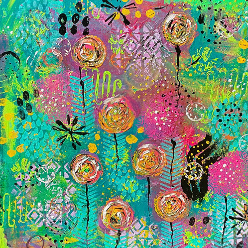 A Spring in Bloom by Angela Swanson