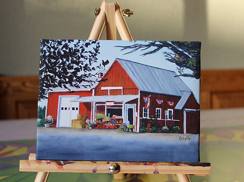 Felida Red Barn