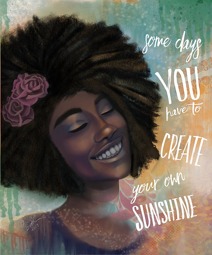 Create Your Own Sunshine (With text)