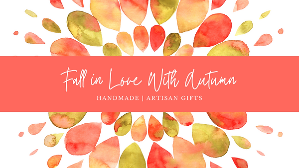 Salmon Watercolor Leaves Autumn Facebook Cover Photo.png