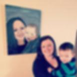 Mother - son portrait complete!_#art #po