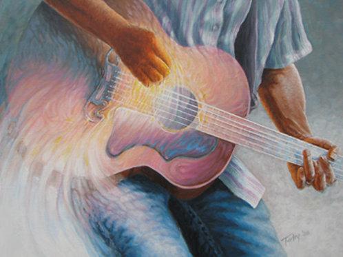 Hiatt's Guitar