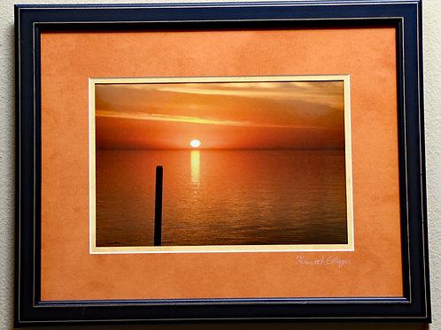 Tillamook Bay Sunset by Kenneth E Meyer