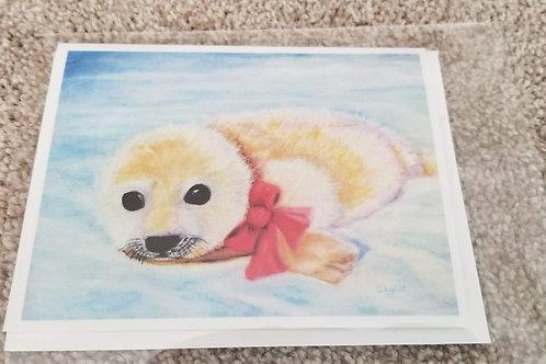 Harbor Seal- Card