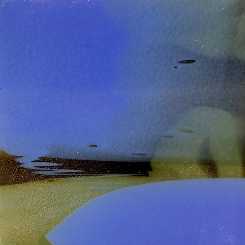 Foggy Beach in the Evening by Gail Haskett