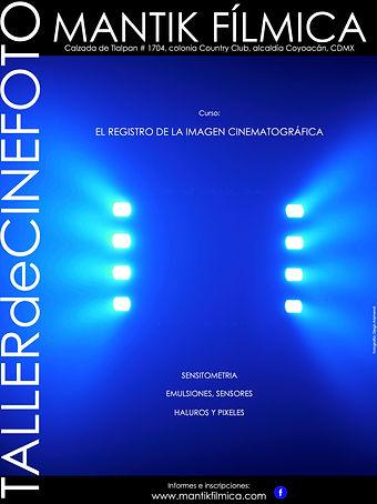 Cartel El Registro de la Imagen Cinemato