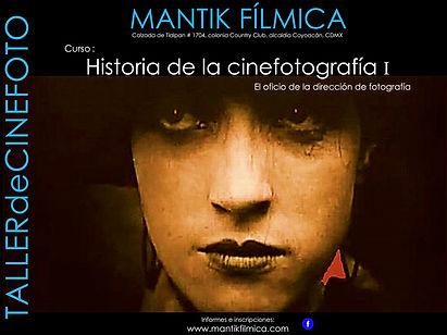 Cartel Historia de la Cinefotografia I.j
