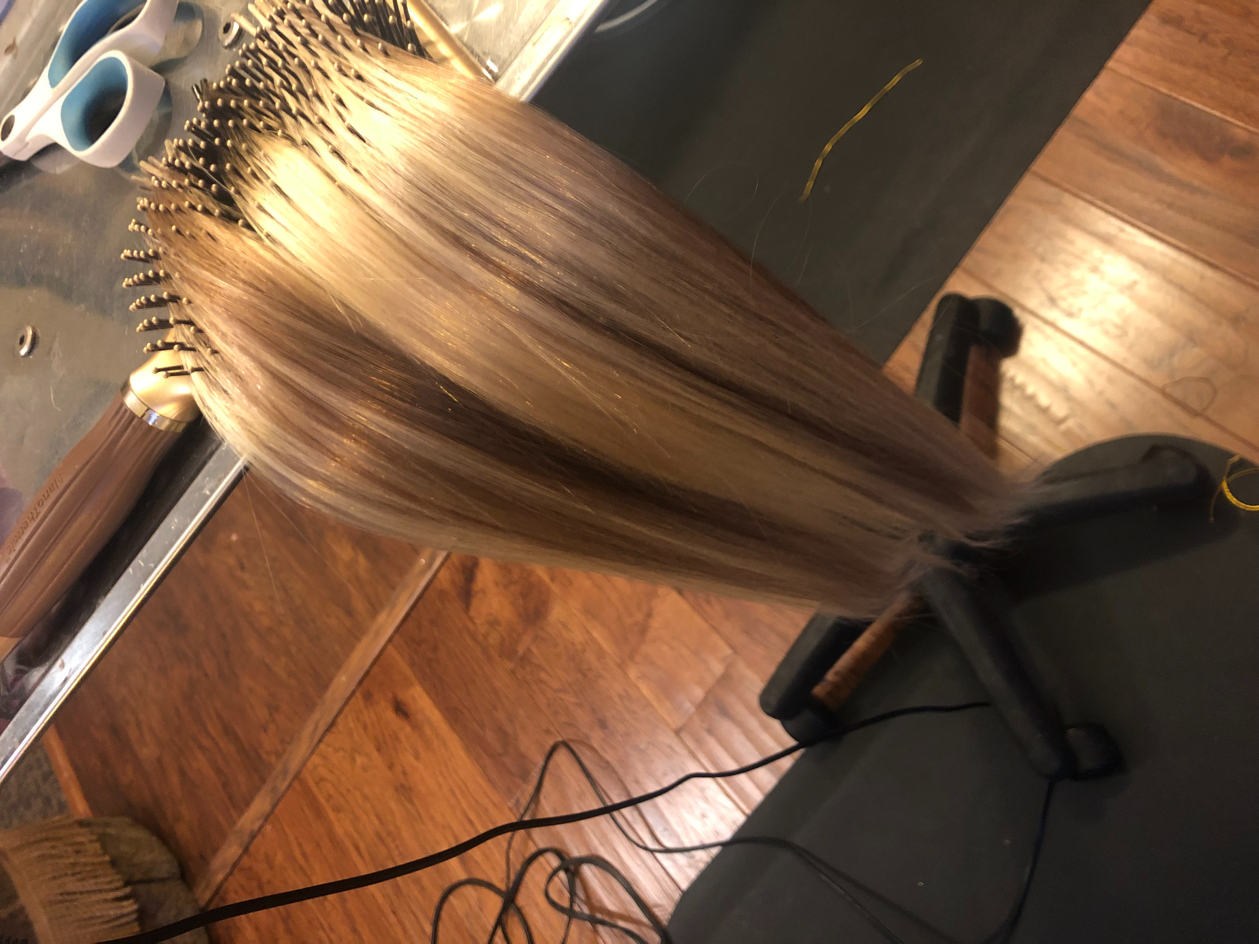 Multiple selection of hair