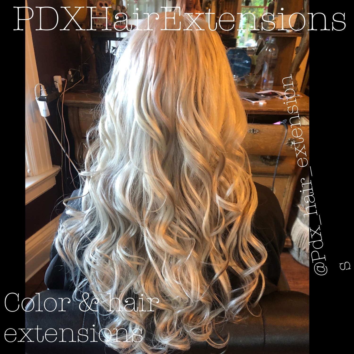 Flawless Blonde Extensions