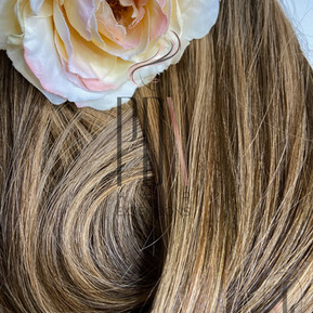 PDX Hair Extensions 4_27 chestnut blonde