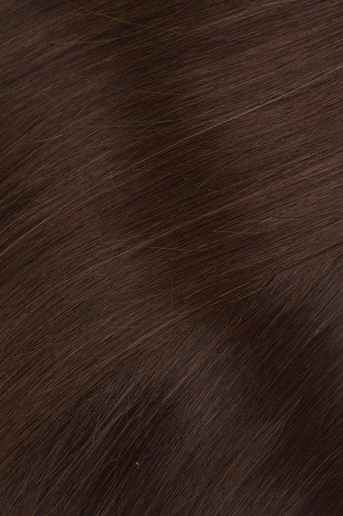 #4 Dark Brown clip In Hair Extension