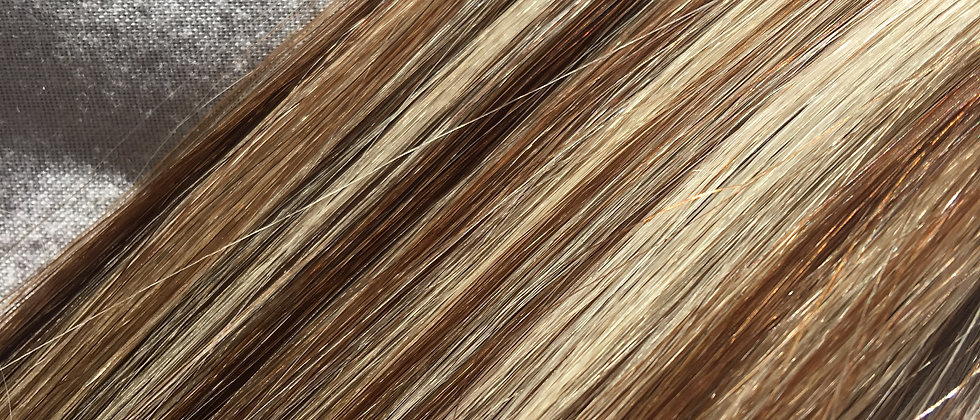 613/4 blonde blend Clip in Hair Extensions