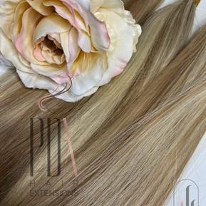 60_8 beach blonde  PDX Hair Extensions .
