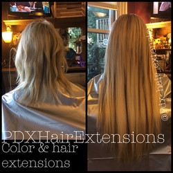 Warm Blonde Extensions