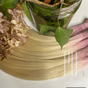 Pink ombre and 60 PDX Hair Extensions .j